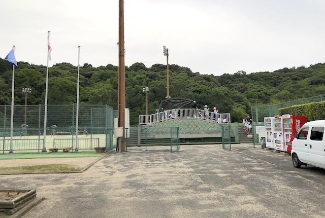 薩摩川内市総合運動公園庭球場