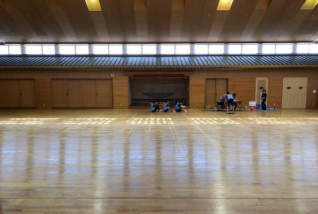 KIRISHIMAツワブキ武道館剣道場