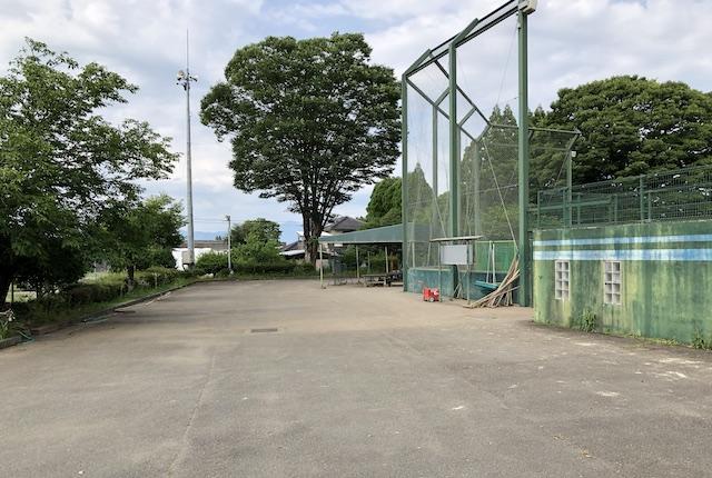 上総合運動公園野球場駐車場