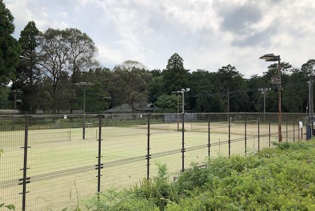 上総合運動公園テニスコート