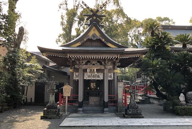 本渡諏訪神社境内社