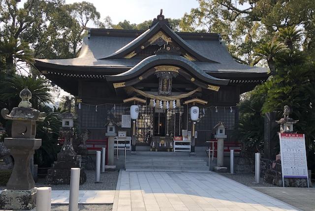 本渡諏訪神社社殿