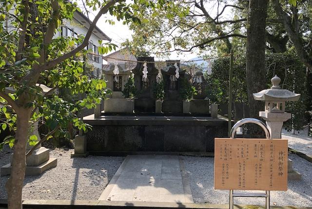 本渡諏訪神社神祠御祭神