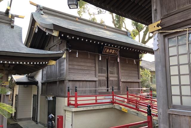 本渡諏訪神社御霊神社