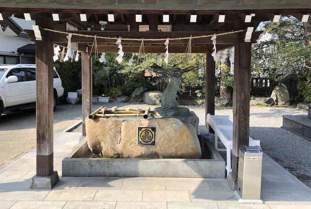 本渡諏訪神社手水舎