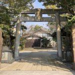 本渡諏訪神社鳥居