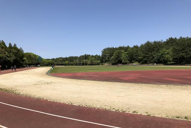 宮崎県総合運動公園第2陸上競技場トラック