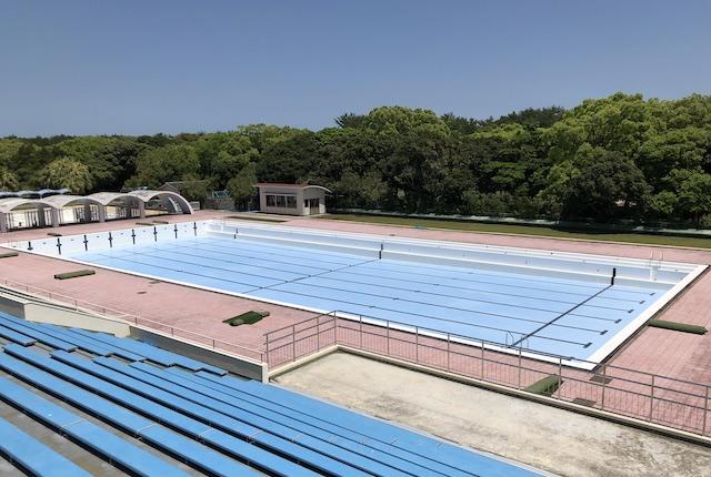 宮崎県総合運動公園50mプール