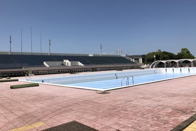 宮崎県総合運動公園水泳場