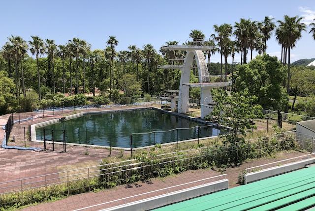 宮崎県総合運動公園飛び込み台