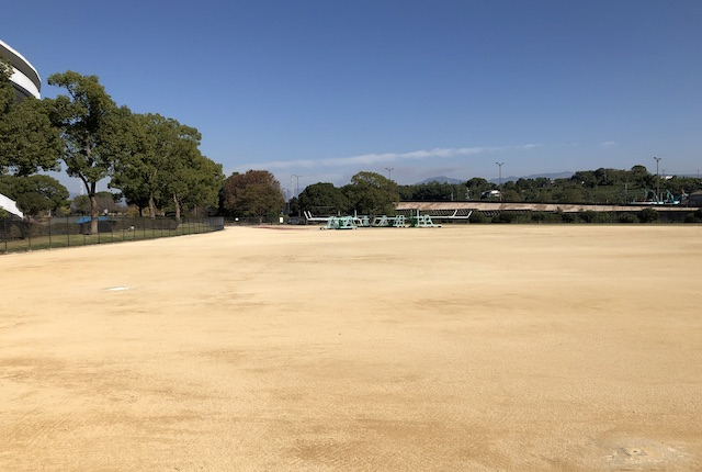 熊本県民総合運動公園投てき場