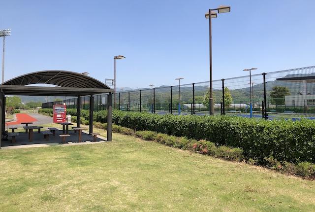 益城町テニスコート