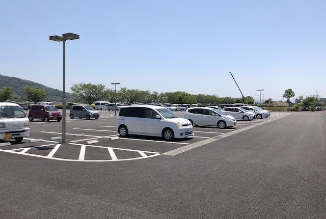 益城町総合運動公園駐車場
