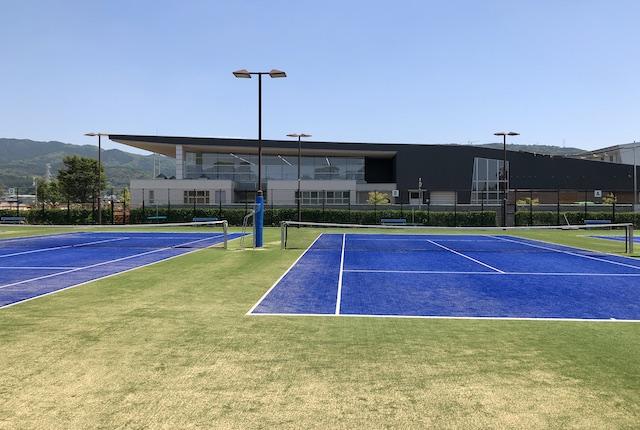 益城町総合運動公園テニスコート