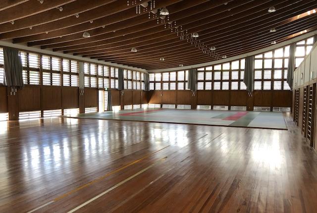 美里町総合体育館武道場