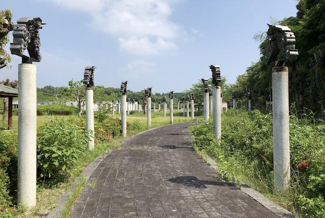 鬼の城公園鬼の回廊