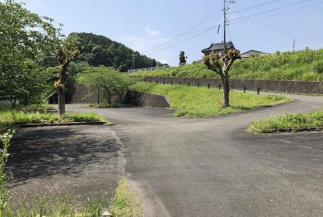 鬼の城公園駐車場