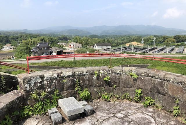 鬼の城公園展望塔