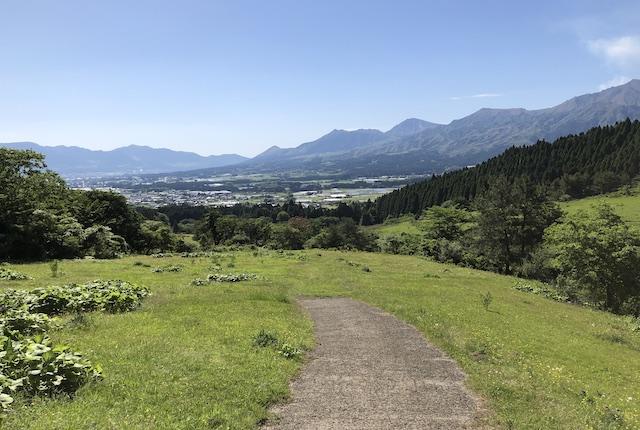 高森殿の杉村山牧野