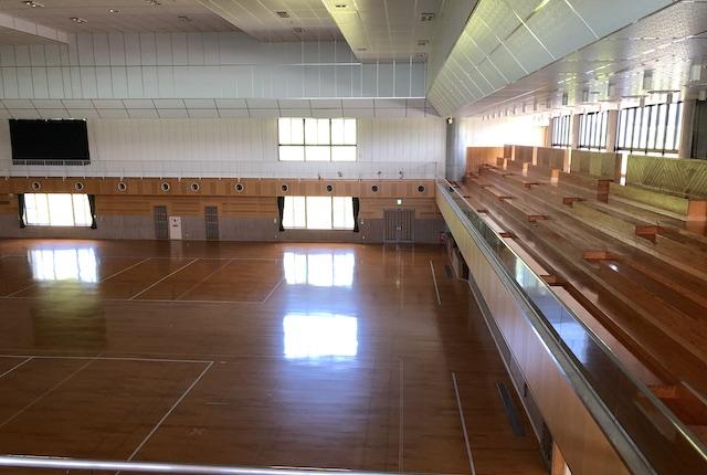あんずの丘多目的体育館グリーンパルス2階