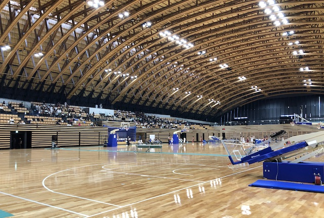 昭和電工武道スポーツセンター多目的競技場