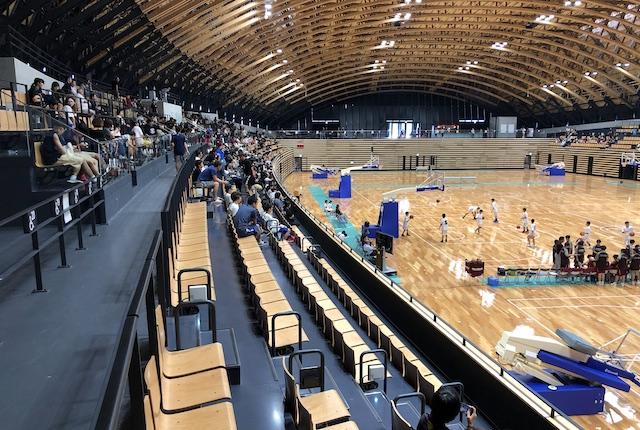 昭和電工武道スポーツセンター多目的競技場観客席