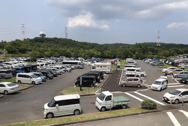 大分スポーツ公園E駐車場