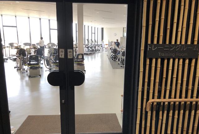 昭和電工武道スポーツセンタートレーニングルーム