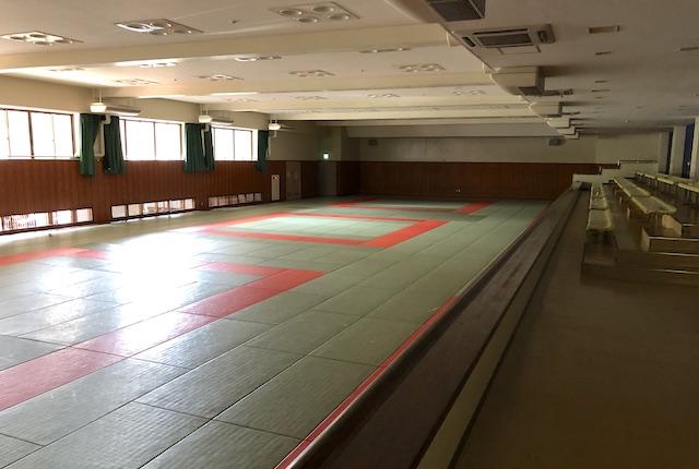 大分県立総合体育館柔道場