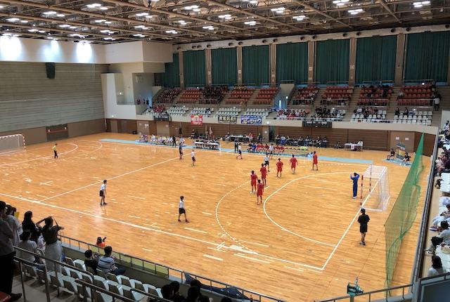 大分県立総合体育館メインアリーナ