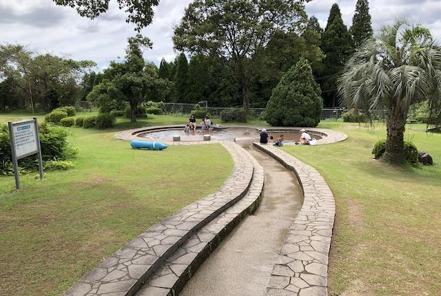 上床公園水遊び