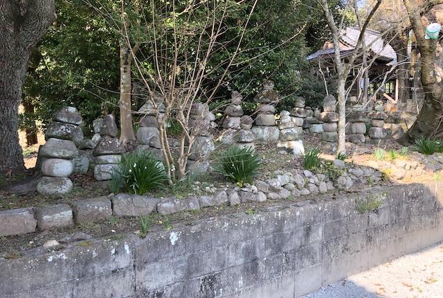 郡浦神社五重塔