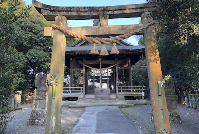 新開大神宮拝殿
