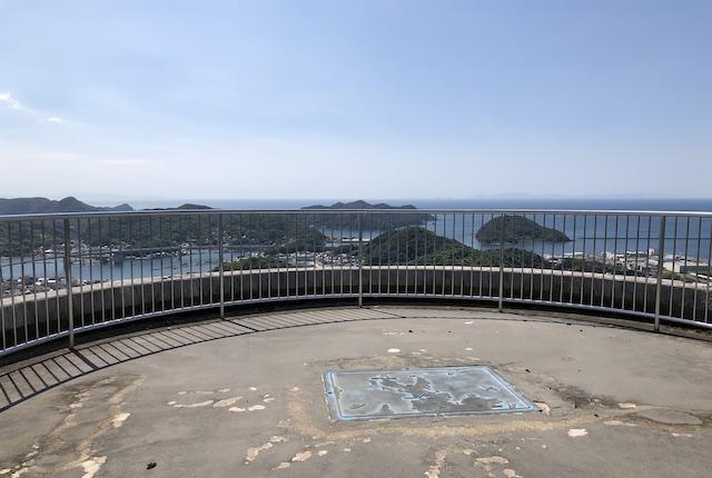 遠見山桜木展望所屋上