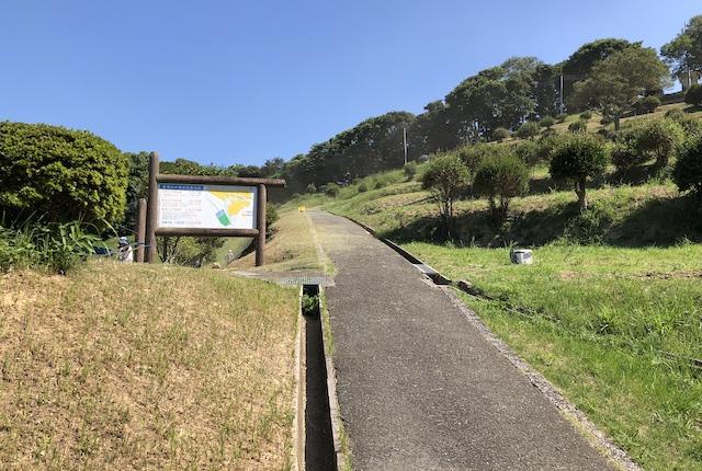 遠見山公園遊歩道