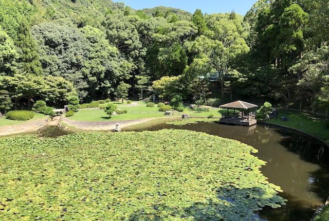 うしぶか公園日本庭園