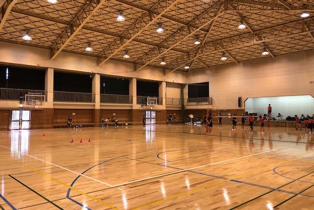 熊本市北部体育館