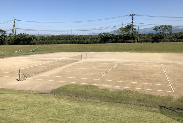熊本市東部交流センターテニスコート