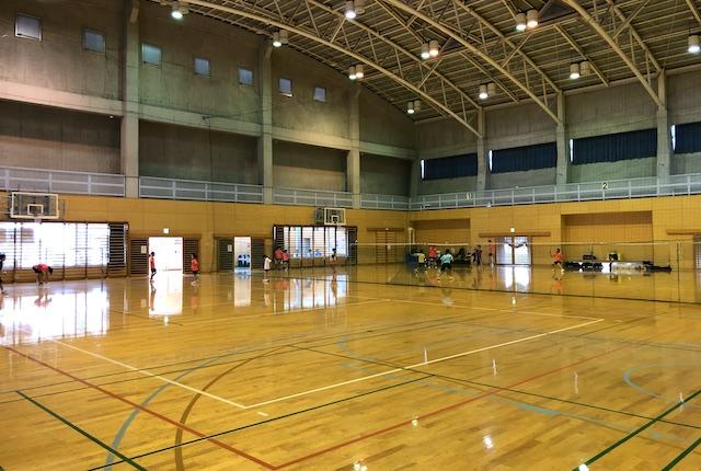 託麻スポーツセンター体育室