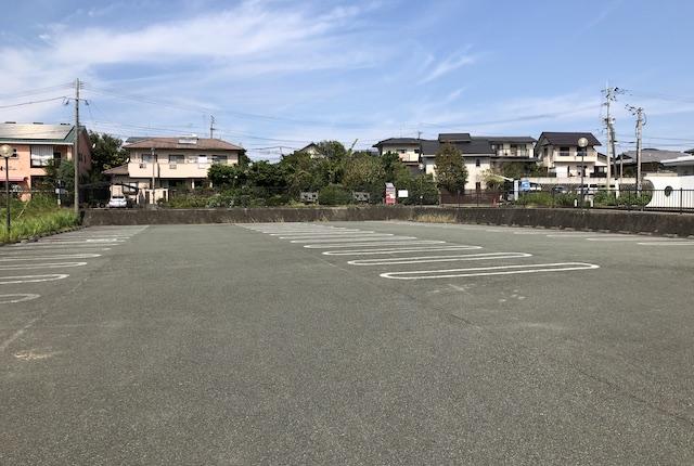 託麻スポーツセンター駐車場