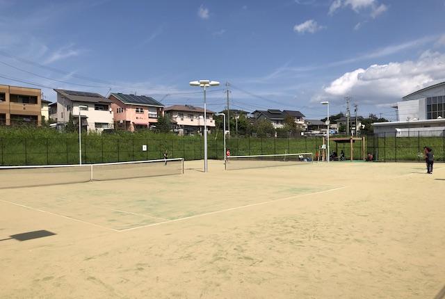託麻スポーツセンターテニスコート