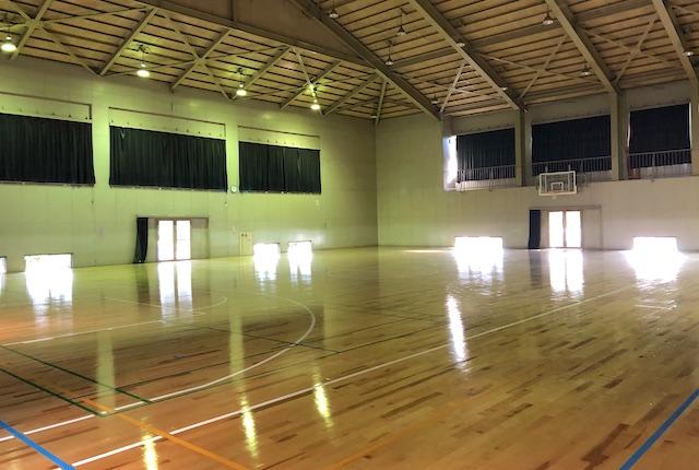 龍田体育館中体育室