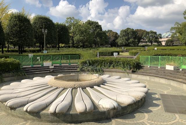 テクノ中央緑地噴水