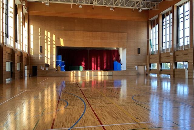 入来総合運動場体育館
