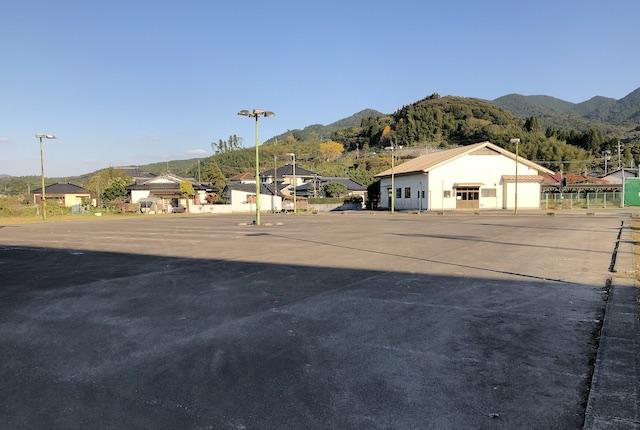 入来総合運動場駐車場