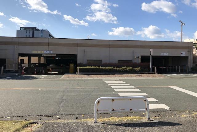 熊本県庁駐車場