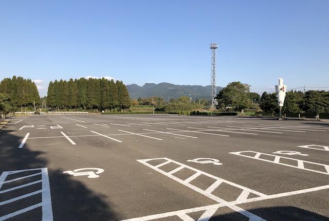 丸山自然公園駐車場