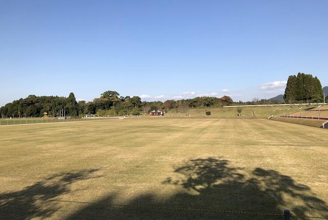 丸山自然公園天然芝コート