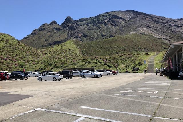 仙酔峡駐車場