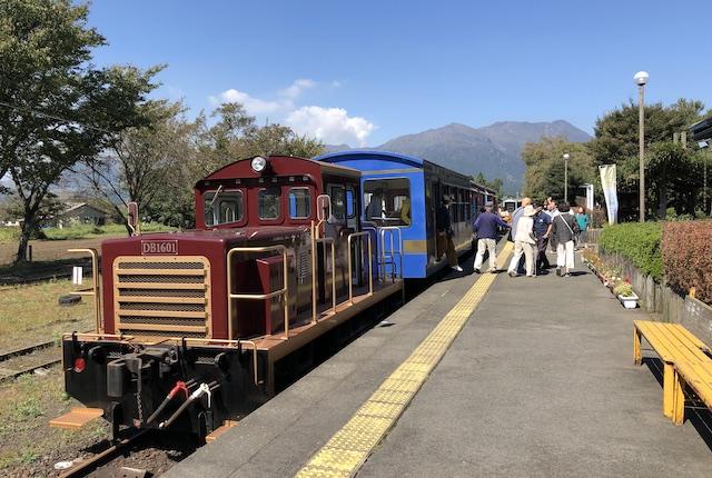 高森駅トロッコ列車